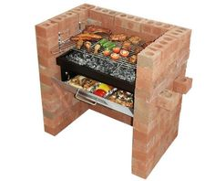 """Excellent """"built in grill diy"""" info is offered on our internet site. Check it out and you wont be sorry you did. Brick Built Bbq, Brick Bbq, Built In Grill, Outdoor Oven, Outdoor Cooking, Outdoor Barbeque, Outdoor Fire, Barbecue Grill, Gas Bbq"""