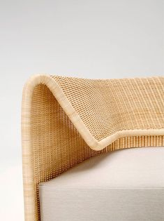 Wrap is a minimalist design created by Italy-based designer Hiroomi Tahara for Yamakawa Rattan