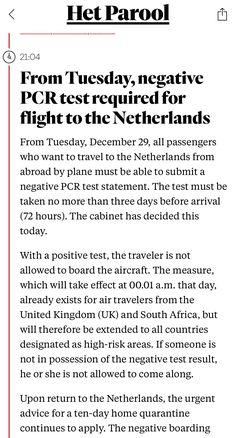By Plane, Amsterdam, News