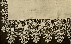 """Image from page 111 of """"Decorative textiles; an illustrated book on coverings for furniture, walls and floors, including damasks, brocades and velvets, tapestries, laces, embroideries, chintzes, cretonnes, drapery and furniture trimmings, wall papers, car 