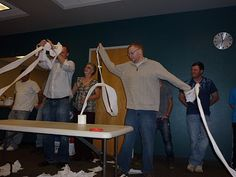 Revealing Toilet Paper Adult Game - The title of the game may sound awful, but its definitely entertaining!