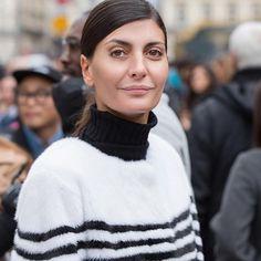 Italian beauties! @bat_gio wearing @lillyevioletta fur - nautical stripes coat available now @modaoperandi #mink #fur #luxurylifestyle #livingluxuryeveryday #lillyevioletta #streetstyle #handstitched #originassured #madeinitaly
