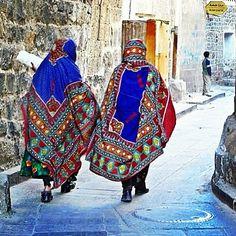 Clothing from Yemen - أحد الأزياء الشعبية اليمنية
