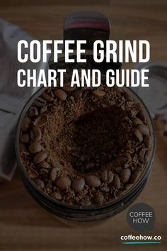 When it comes to making the perfect cup of coffee, there are a few absolute truths that must be understood before you begin to brew. If you pair the right coffee grind size with the right brewing method, your chances of getting that just-right cup are all the better. #coffeegrindchart  #pourovercoffeegrindsize #pourovercoffeegrind #chemexcoffeegrind #v60coffeegrind #frenchpresscoffeegrind #aeropresscoffeegrind #turkishcoffeegrind #dripcoffeegrind #espressomachinecoffeegrind Coffee Type, Coffee Set, Best Coffee, Coffee Cup Cozy, Drip Coffee, Coffee Guide, Coffee Facts, Coffee Benefits