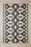 Thumbnail View 3: Mira Reversible Indoor/Outdoor Mat Cabin Rug, Graphic Patterns, Modern Boho, Woven Rug, Rug Making, Vintage Rugs, Cleaning Wipes, Indoor Outdoor, Recycling