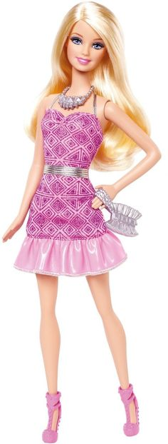 Shop for Barbie dolls and toys and find fab fashions, playsets and fashion dolls. Browse Barbie dolls and toys sparkling with pinktastic fun in the Barbie toys collection including dollhouses, Barbie& Dreamhouse, fashions and doll accessories. Barbie Fashionista, Pink Fashion, Fashion Dolls, Dress Fashion, Barbie Clothes, Barbie Dolls, Barbie Party, Pink Mini Dresses, Barbie Dream