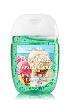Boardwalk Vanilla Cone PocketBac Sanitizing Hand Gel - Soap/Sanitizer - Bath & Body Works