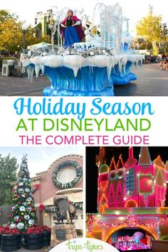 Complete Guide to Holidays at Disneyland 2019 - Trips With Tykes Disney World Tips And Tricks, Disney Tips, Disney Fun, Disney Planning, Disney Travel, Usa Travel, Travel Tips, Disneyland Tips, Tokyo Disneyland