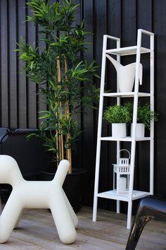 Estanterias externo IKEA- Puppy Magis los dos en blanco