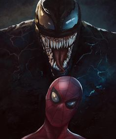 Spiderman and Venom iPhone Wallpaper Marvel Comics, Marvel Dc, Marvel Venom, Marvel Heroes, Marvel Logo, Marvel Girls, Captain Marvel, Amazing Spiderman, Spiderman Kunst