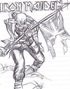 Desenho Iron Maiden