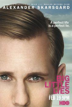 Big Little Lies Poster Alexander Skarsgard