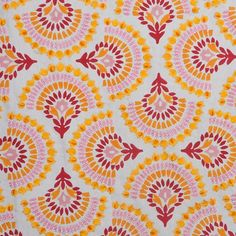 The design world's best furnishings, for every style and space. Textile Prints, Textile Patterns, Textile Design, Color Patterns, Fabric Design, Print Patterns, Fun Patterns, Lino Prints, Floral Patterns