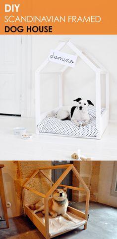 DIY Doghouse Frame Bed