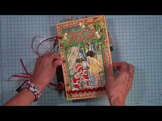 Christmas Magic Massive Board Book by Annette Green Products: Graphic 45 - Christmas Magic available Late August 2018 Christmas Mini Albums, Christmas Minis, Christmas Countdown, Creative Christmas Cards, Scrapbook Albums, Scrapbooking, Holiday Planner, Mini Album Tutorial, Book Making