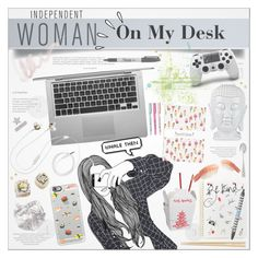 """★★ 1. On My Desk"" by paty ❤ liked on Polyvore featuring art"