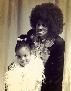 Michael Jackson and Janet Jackson 1974 American Music Awards