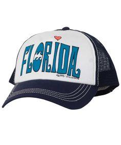 Billabong Florida Lover Twill Trucker Hat  lt 3 Simply Fashion 53db756dba57