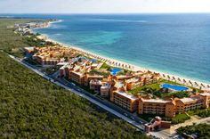 Ocean Coral & Turquesa All Inclusive Puerto Morelos Overlooking the beautiful waters of the Caribbean in the heart of Riviera Maya, this resort offers exceptional amenities and facilities, including a full-service spa, gourmet restaurants and endless recreational activities.