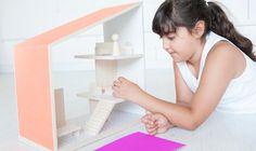 Haz de tus ideas una realidad. Casa de muñecas moderna.