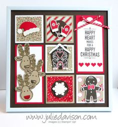 Candy Cane Lane Christmas Sampler Frame