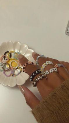 Nail Jewelry, Bead Jewellery, Trendy Jewelry, Cute Jewelry, Beaded Jewelry, Jewelery, Jewelry Accessories, Handmade Jewelry, Funky Jewelry