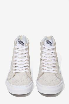 cc091fa68f Vans Sk8-Hi Sneaker - Crackle Suede   Cute Sneakers