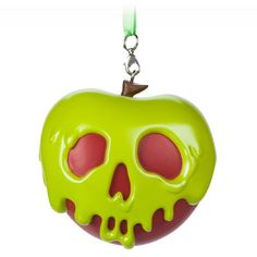 ''Dip the apple in the brew . let the sleeping death seep through& Not your typical holiday wishes, but this iconic Poisoned Apple Ornament from Snow White and the Seven Dwarfs is mighty tempting. Holiday Wishes, Holiday Tree, Holiday Ideas, Snow White Apple, Snow White Poison Apple, Snow White Cake, Poison Apples, Minnie Bow, Mickey Mouse Club