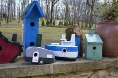 Collection - Birdhouses. Handmade By Cor van de Velde Petite Maison Daglan
