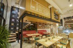 Creative Lab, Central Pak (Lebanon), International restaurant