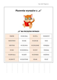 BLOG EDUKACYJNY DLA DZIECI Learn Polish, Teacher Morale, Polish Language, Gernal Knowledge, Uganda, Activities For Kids, Study, Education, Learning
