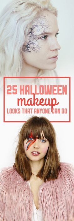 25 Halloween Makeup Looks That Are Actually Easy