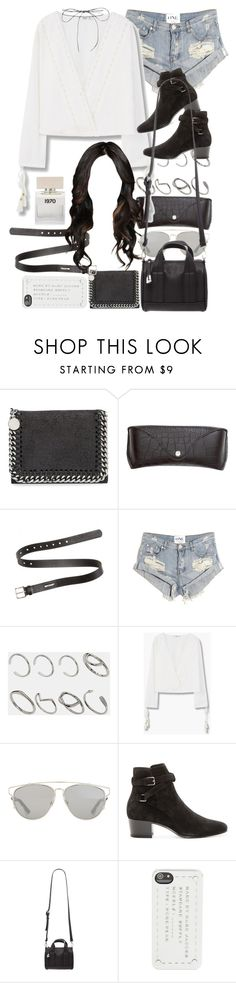 """""""Untitled #9060"""" by nikka-phillips ❤ liked on Polyvore featuring STELLA McCARTNEY, H&M, Acne Studios, One Teaspoon, ASOS, MANGO, Christian Dior, Yves Saint Laurent, Forever 21 and Marc by Marc Jacobs"""