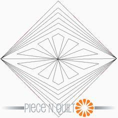 Sparkler Machine Quilting Pattern - Digital