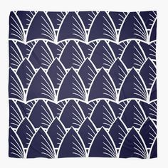 """""""Shards Navy"""" Scarf http://www.redbubble.com/people/angeflange/works/14722660-shards-navy?p=scarf"""