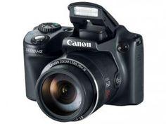 "Câmera Digital Canon PowerShot SX510 HS 12.1MP - LCD 3"" Zoom Óptico 30x Filma Full HD Cartão 8GB"