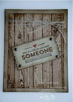 Hardwood/ See Ya Later Card