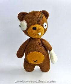 knitterbees: zOombear