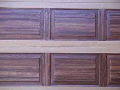 Painting An Over Sized Garage Door   Everything I Create - Woodworking Tutorials, Paint Garage Door to Look Like Wood Garage Door Hinges, Garage Door Paint, Garage Door Makeover, Woodworking Tutorials, Craft Tutorials, Arrow Show, Big Doors, Painted Front Doors, Paint Strokes