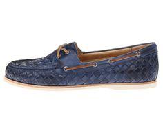 Frye Quincy Soft Weave Boat Camel Soft Vintage Leather