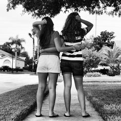 Aww too cute! Must do this with the best friend. Need to go on a photoshoot soon! Gotta love photography; especially black and white!<3