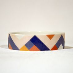 Amazing porcelain bangles by Erin Lightfoot.