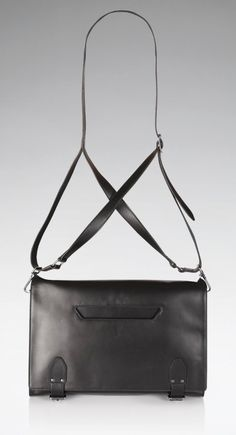 Leather Criss Cross Bag