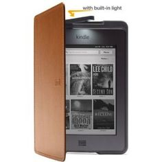 Amazon Kindle Touch Lighted Leather Cover, Saddle Tan --- http://bizz.mx/qdh