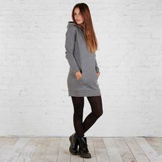 Fleece Sweatshirt Dress - Kmart