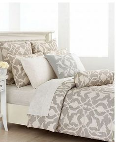 Barbara Barry Bedding Poetical Silver King Comforter Set