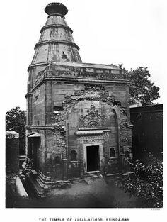Was Vrindavan still beautiful back in 1882? (Album 17 photos)