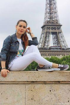 La Tour Eiffel come sfondo di questo outfit postato sul fashion blog The Style Fever by Mina Masotina . Una location romantica e raffinata come Parigi sono il set ideale per i bijoux Luca Barra Gioielli che donano un tocco chic ad un look dal sapore easy.  #fashionblog #minamasotina #outfit #look #consiglidistile #mood