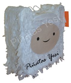 Piñata artesanal hecha a mano de Finn el Humano de Hora de Aventuras.