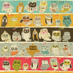 My Owl Barn: Joyful Artwork by Richard Faust Graphic Design Illustration, Illustration Art, Retro Illustrations, Owl Always Love You, Owl Crafts, Owl Art, Stencil Painting, Cute Owl, Bird Feathers